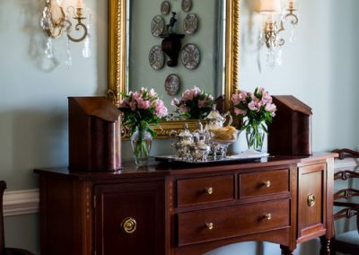 Georgian formal dining room sideboard