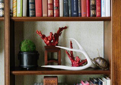 Menagerie bookshelf